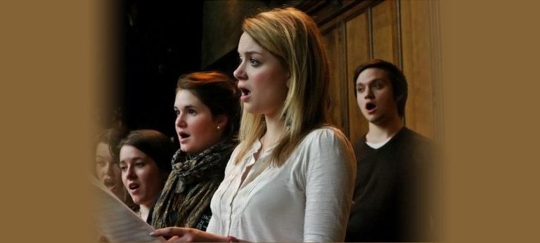 High Row Choir of wedding ceremony musicians perform at Rudding Park Harrogate