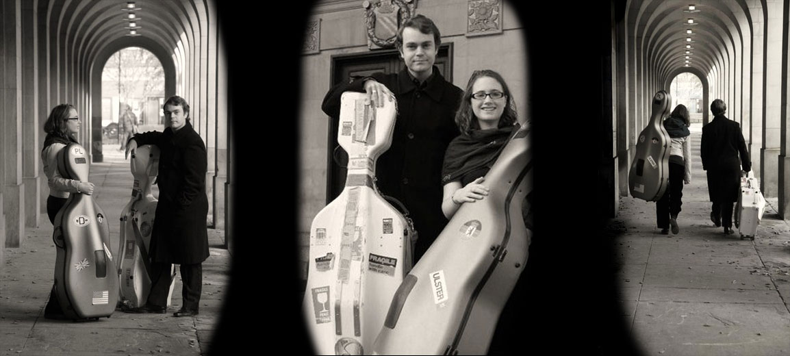 Alternative to string quartet for wedding - cello duo