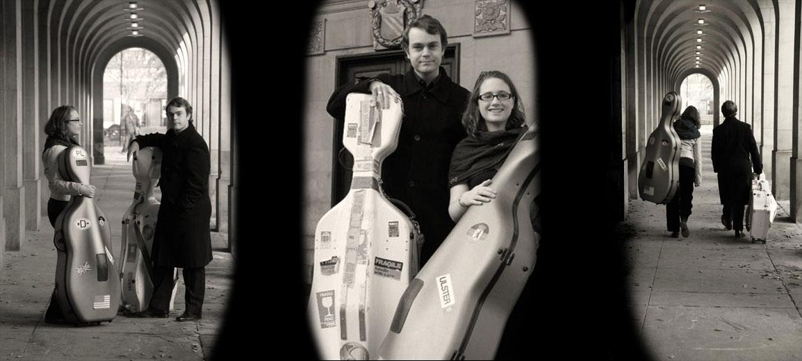 Alternative to string quartet for wedding - cello duo