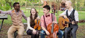 String Quartet Wedding Band