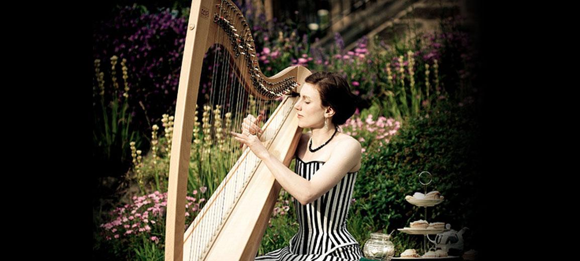 Hire a Harpist - Tamsin Harpist