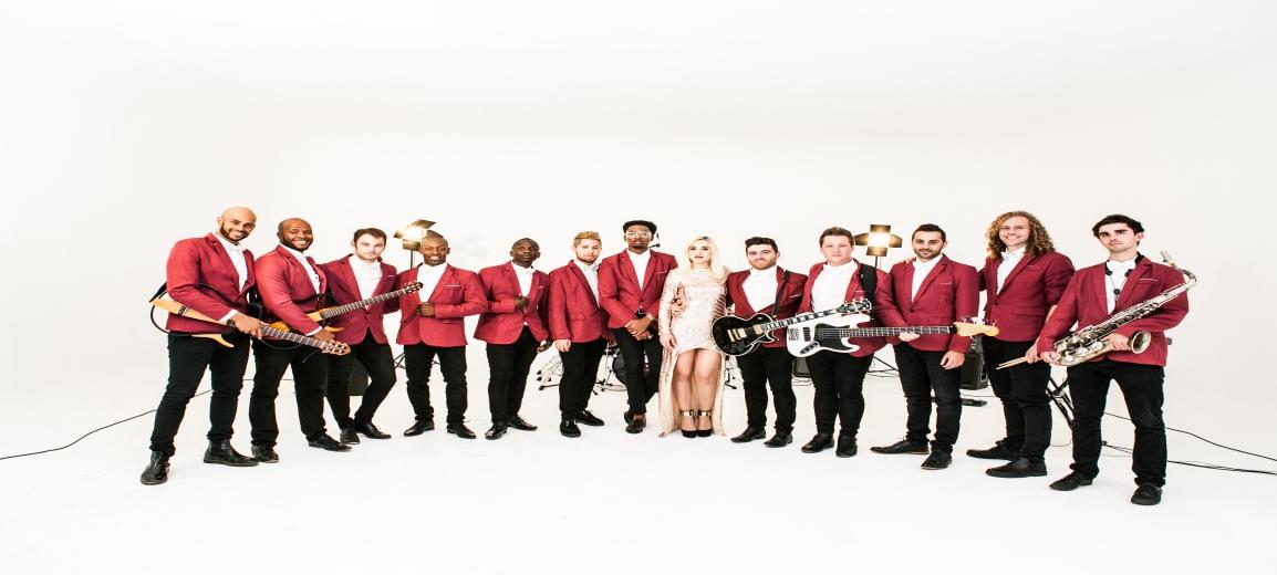Bespoke Band Photo - Red 1154
