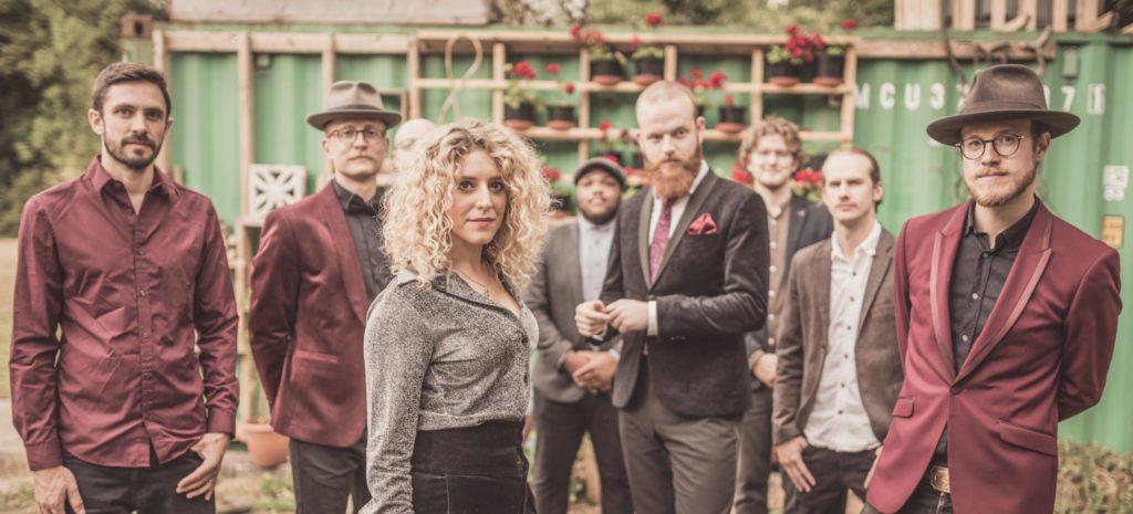 Soul Crowd Wedding Musicians Harrogate pose