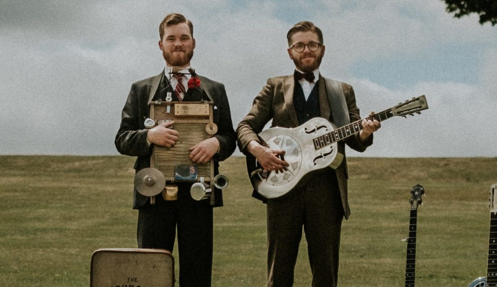 Vintage Blues duo play wedding music at York Wedding