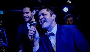 Swing things perform at Harrogate wedding reception