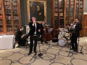 Swing THings jazz band at Rudding Park Harrogate